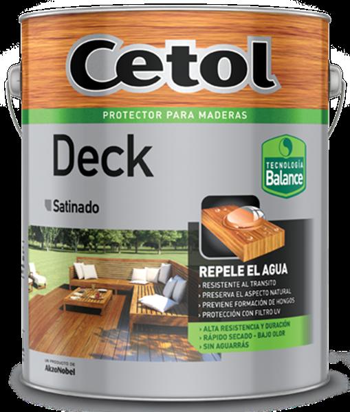 Imagen de Cetol Deck Balance Natural 4L