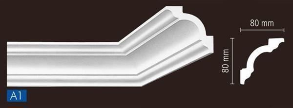 Imagen de Moldura Nomastyl A1 1m lineal