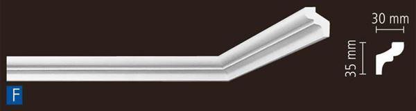 Imagen de Moldura Nomastyl F 1m lineal