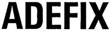 Logo de la marca Adefix