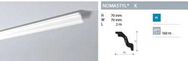 Imagen de Moldura Nomastyl K 1m lineal