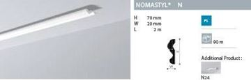 Imagen de Moldura Nomastyl N 1m lineal